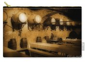 Ye Old Wine Cellar In Tuscany Carry-all Pouch by John Malone
