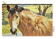 Yeller Horse Carry-all Pouch