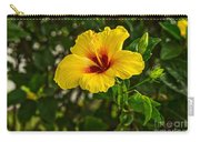 Yellow - Beautiful Hibiscus Flowers In Bloom On The Island Of Maui. Carry-all Pouch