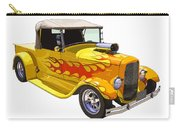 Yellow 1928 Hotrod Pickup Truck  Carry-all Pouch