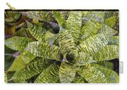 Yellow And Green Bromeliad Carry-all Pouch
