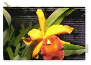 Yellow And Orange Cattleya In The Hothouse Carry-all Pouch