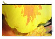 Yellow And Orange Petals Illuminated Carry-all Pouch