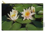 Yellow  And Pink Lily  Carry-all Pouch