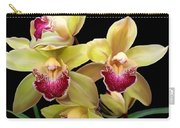 Yellow And Pink Orchids Carry-all Pouch