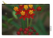 Yellow And Red Flowers Carry-all Pouch