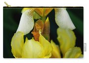 Yellow And White Irises Carry-all Pouch