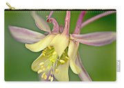 Yellow Aquilegia Bloom Carry-all Pouch