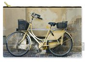 Yellow Bicycle In Copenhagen Carry-all Pouch