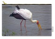 Yellow Billed Stork Carry-all Pouch