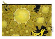 Yellow Bird Sings In The Sunflowers Carry-all Pouch