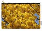 Yellow Blossoms Of A Tabebuia Tree Carry-all Pouch