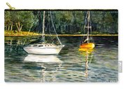 Yellow Boat Sister Bay Carry-all Pouch
