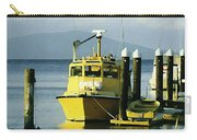 Yellow Boats Carry-all Pouch by Ellen Henneke