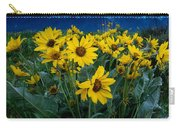 Yellow Bouquet Carry-all Pouch