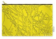 Yellow Branches Carry-all Pouch