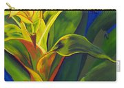 Yellow Bromeliad Carry-all Pouch