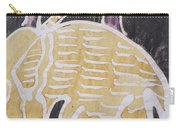 Yellow Brown Elephant In The Bush. Carry-all Pouch