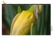 Yellow Bud Carry-all Pouch