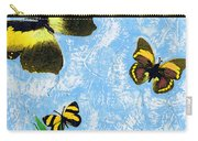 Yellow Butterflies - Spring Art By Sharon Cummings Carry-all Pouch