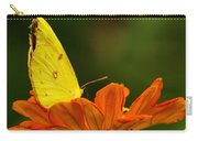 Yellow Cabbage Moth Carry-all Pouch