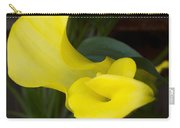 Yellow Cala Carry-all Pouch