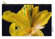 Yellow Canna Flower Carry-all Pouch