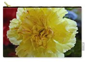 Yellow Carnation Delight Carry-all Pouch
