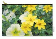 Yellow Cascade Carry-all Pouch