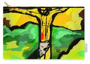Yellow Christ  After Gauguin Carry-all Pouch