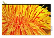 Yellow Chrysanthemum Painting Carry-all Pouch