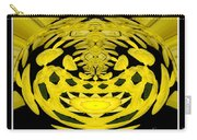 Yellow Chrysanthemums Polar Coordinates Effect Carry-all Pouch