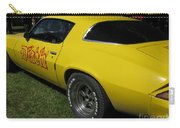 Yellow Classic Car Diablo At The Show Carry-all Pouch