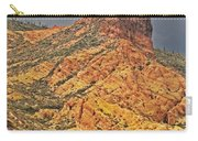 Yellow Colored Rock Along The Apache Trail Carry-all Pouch
