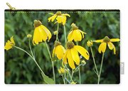 Yellow Cone Flowers Rudbeckia Carry-all Pouch