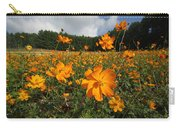 Yellow Cosmos Field In Flower Japan Carry-all Pouch