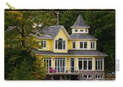 Yellow Cottage Carry-all Pouch