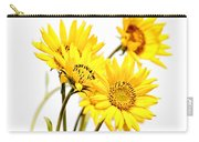 Yellow Country Wildflowers Carry-all Pouch