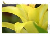Yellow Cream Tropical Carry-all Pouch