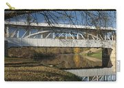 Yellow Creek Covered Bridge Carry-all Pouch