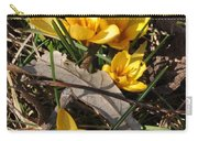 Yellow Crocuses Carry-all Pouch