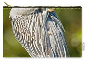 Yellow Crowned Night Heron Carry-all Pouch