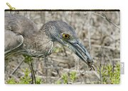 Yellow-crowned Night Heron With Crab Carry-all Pouch