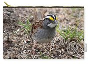 Yellow Crowned Sparrow Carry-all Pouch