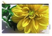 Yellow Dahlia Closeup Carry-all Pouch