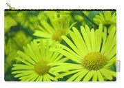 Yellow Daisies Close-up Carry-all Pouch