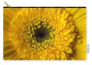 Yellow Daisy Close Up Carry-all Pouch