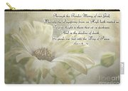 Yellow Daisy Photoart  With Verse Carry-all Pouch