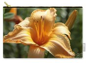 Yellow Day Lily Carry-all Pouch
