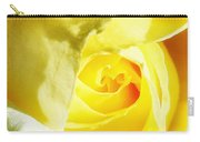 Yellow Diamond Rose Palm Springs Carry-all Pouch